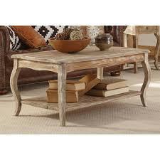 alaterre furniture rustic driftwood coffee table