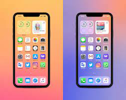 iOS 14 wallpaper gradient inspirations ...