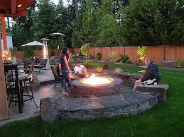 brick outdoor fire pit best of 40 new backyard fire pit best fence gallery inspiration