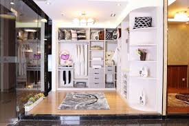 Closets Storages Modern Luxurious In Closet Picture With Open