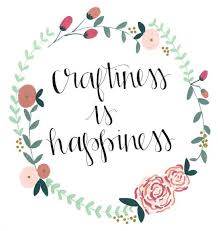 Crafting Quotes Awesome Craftiness Is Happiness One Of Three Awesome FREE Wall Decor