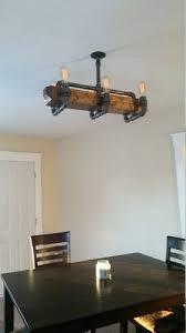 medium size of reclaimed walnut barn wood chandelier with varying edison bulbs 104500 via reclaimed