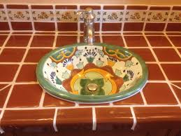 Mexican Tile Kitchen Ideas For Using Mexican Tile In Your Kitchen Or Bath Countertop