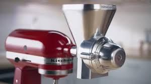 kitchenaid new attachments. new attachments help make kitchenaid® stand mixer a true \u201cculinary center\u201d kitchenaid