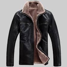 hot winter leather jacket men s