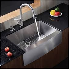 27 inch farmhouse kitchen sink luxury faucet com khf200 30 in stainless steel by kraus