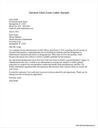 Example Cover Letter For Resume General 9 10 Cover Letter For A Resume Free Samples