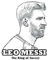 Crafty Design Soccer Coloring Page Pages Of Nicotto Me Messi