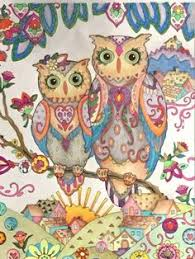 31 Best Colouring For Relaxation Owls Images Coloring Books
