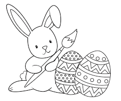 Coloring Pages Ideas Free Printable Easter Coloring Pages To Print