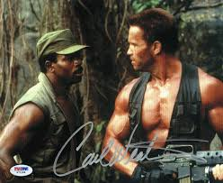 Carl Weathers Signed Predator Authentic ...