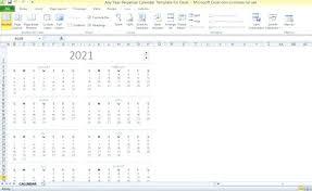 Perpetual Calendar Template 3 Excel Format Jjbuilding Info