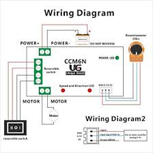 uniquegoods 6v 12v 24v 6a dc motor speed governor adjustable Wiring A Potentiometer For Motor uniquegoods 6v 12v 24v 6a dc motor speed governor adjustable reversible switch pwm 200w variable speed control reversing ccm6n amazon com Potentiometer Motor Control Wiring Diagram
