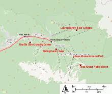 Зимние Олимпийские игры Википедия Зимние Олимпийские игры 2014 Горный кластер Центры интерактивная карта