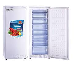 Tủ đông đứng Hòa Phát (Funiki) trữ sữa, trữ kem chuyên dụng 216 lít ( 8  ngăn) - Điện máy Nam Phong