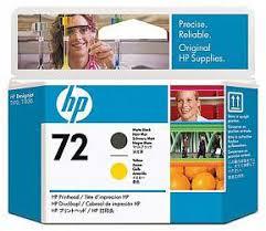 <b>Печатающая головка HP</b> Print Head №72 Matte Black & Yellow ...
