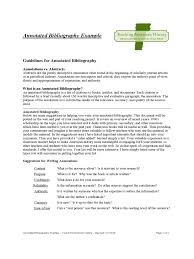 Annotated Bibliography Template Monzaberglauf Verbandcom