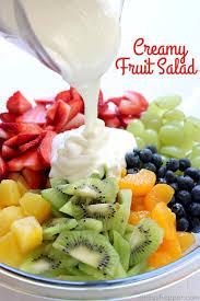 creamy fruit salad recipe. Delighful Recipe Creamy Fruit Salad And Recipe