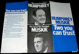 Campaign Brochure Hubert Humphrey For President 1968 Pictorial Campaign