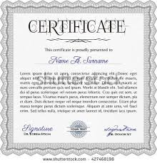 grey diploma template excellent design vector stock vector  grey diploma template excellent design vector illustration complex background