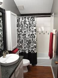 Red Bathroom Decor Excellent Picture Of Black White And Red Bathroom Decorating Ideas