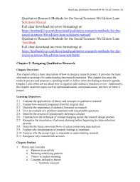 Design Research Meaning Qualitative Research Methods For The Social Sciences 9th