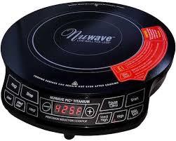 nuwave pic portable induction cooktop countertop burner