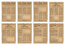 Vintage Newspaper Template Free Vintage Newspaper Template Wordpress Gratis Meetwithlisa Info
