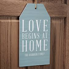 personalized wall art wood tag love begins 19184 on personalized wall art wood with personalized wall art wood tag love begins