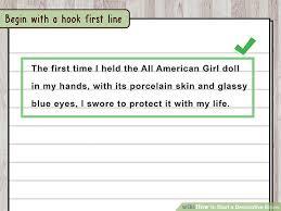 how to start a descriptive essay steps pictures image titled start a descriptive essay step 9