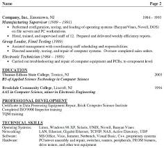 Electronics Engineer Resume Format Resume Template Ideas