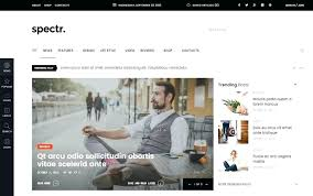 Newspaper Website Template Free Download Newspaper Html Template Magazine Website Free