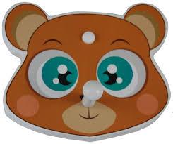 Bear Coat Rack Bear Faced Kids Coat Rack No Boring Coat Racks 75