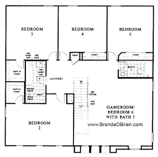 BLACK HORSE RANCH FLOOR PLAN KB Home Model 40 Upstairs Awesome Floor Plans For 5 Bedroom Homes