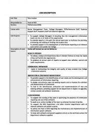 Database Analyst Job Description Data Analyst Job Description Brooksby Melton College