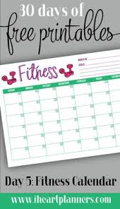 workout planner template workout schedule template someone please make me pinterest