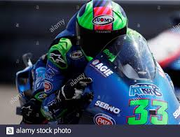 MotoGP - Czech Republic Grand Prix - Masaryk Circuit, Brno, Czech Republic  - August 9, 2020 Italtrans Racing Team's Enea Bastianini celebrates winning  the Moto2 race REUTERS/David W Cerny Stock Photo - Alamy