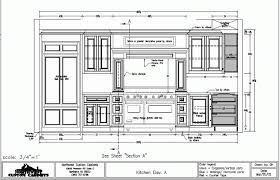 Autocad Kitchen Design Decoration