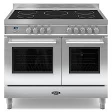 Buy Britannia Q Line Twin Oven Electric Range Cooker With Induction Hob -  Stainless Steel from Appliances Direct - the UK's leading online appliance  ...