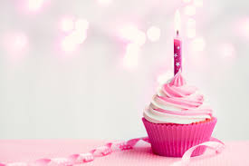 12 Candle Pink Cupcakes Tumblr Photo Happy Birthday Cupcake With