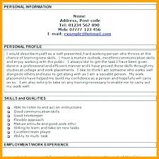 High Profile Cv Template Resume Examples For College New Stanmartin