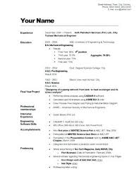 How Tomake Resume How Make A Good Resume How To Make Resume Stand