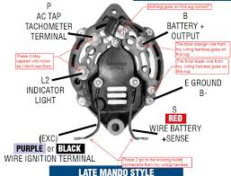 4 wire alternator wiring diagram annavernon 4 wire mando alternator wiring diagram home diagrams