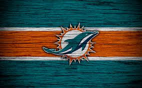 miami dolphins nfl american conference 4k wooden texture american football