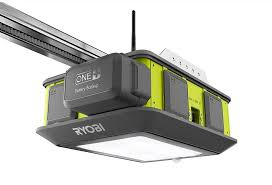 ryobi garage door opener plug and play in your garage
