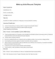 sle resume sle resume makeup artist templates teacher resume