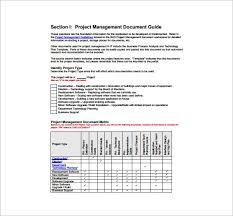 Sample Project Plan Outline 16 Project Management Plan Templates Word Pdf Apple