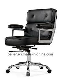 china leather upholstery modern swivel eames office chair pe b103 china aluminum chair office chair
