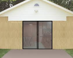 single car garage doors. Simple Garage IdeaWorks 8x7foot Instant Single Car Garage Door Screen To Doors I