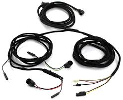 tail light wiring harness coupe & convertible with boot sockets steel suppliers livermore ca at Alloy Metals Wiring Harness